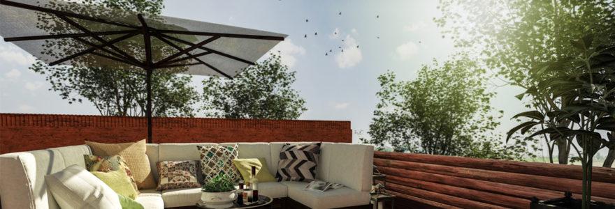 parasols pour terrasses